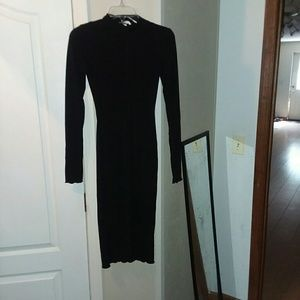 H&M Long Sleeve Bodycon Dress